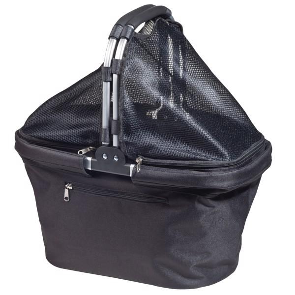 """Shopping Basket """"Chapeau"""" - Black"""