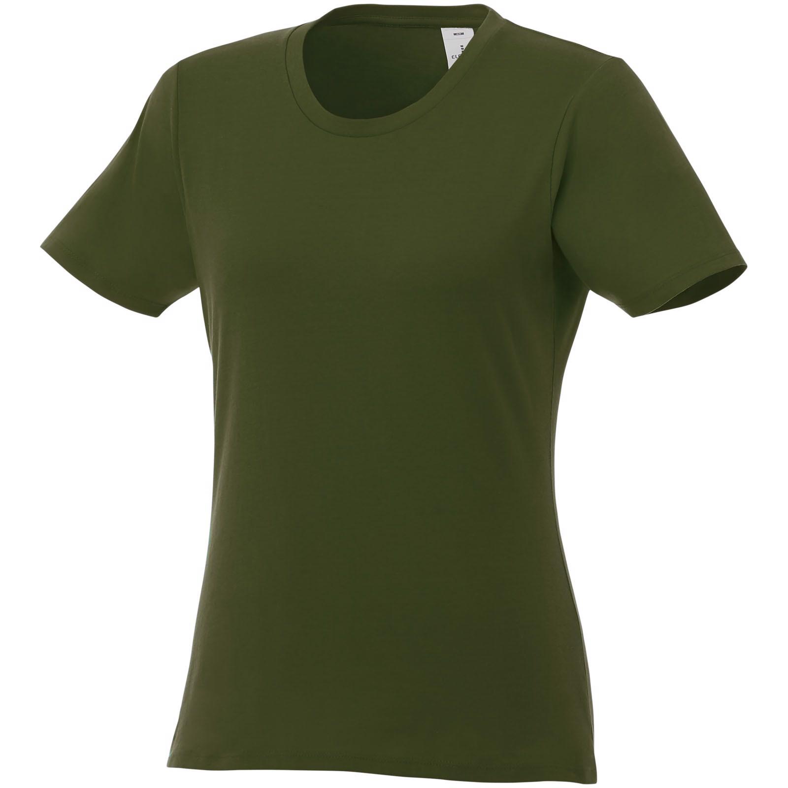 Heros short sleeve women's t-shirt - Army green / XXL