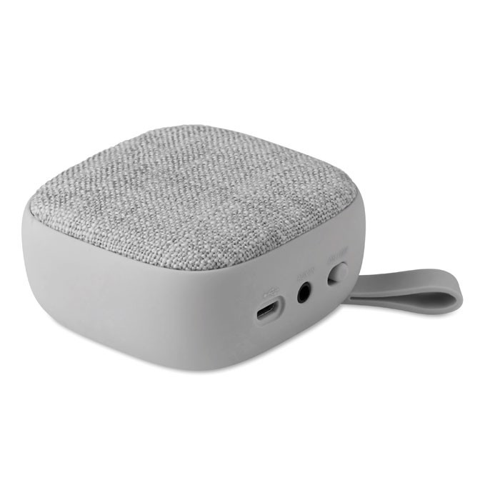 Bluetooth Lautsprecher eckig Rock - grau