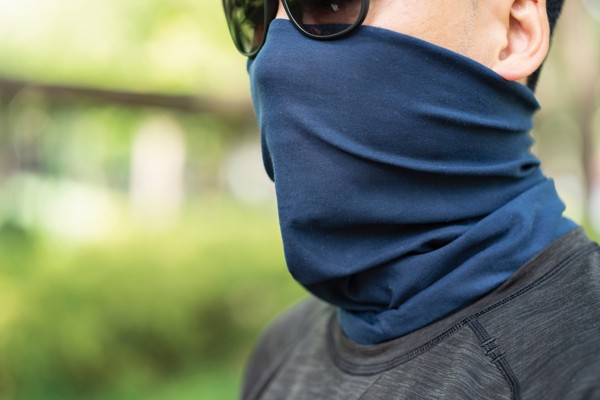 Multifunctional scarf - Grey