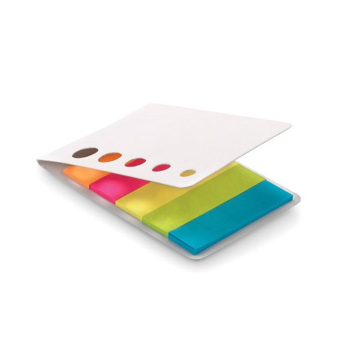 Samoprzylepne karteczki Memosticky - biały