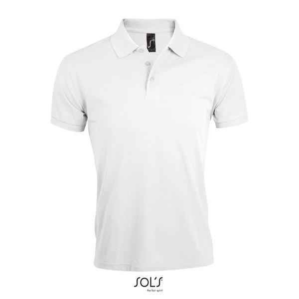 PRIME MEN POLO 200gr - White / 4XL
