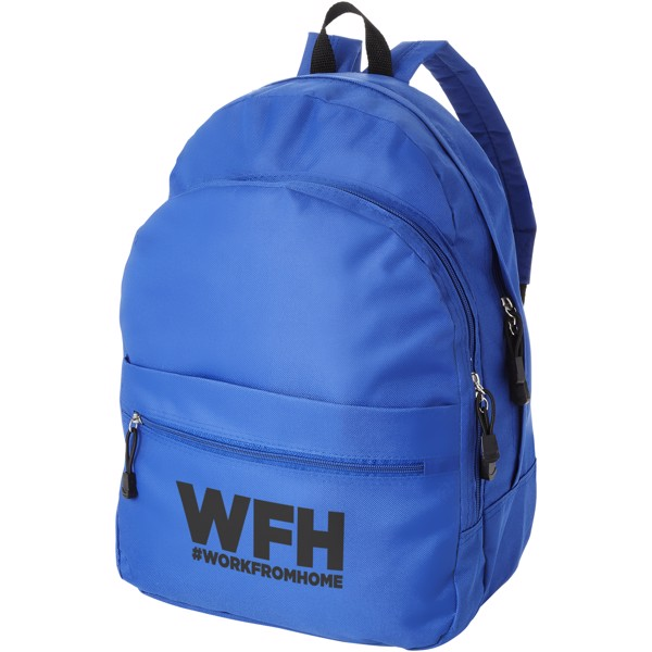 Trend 4-compartment backpack - Royal blue