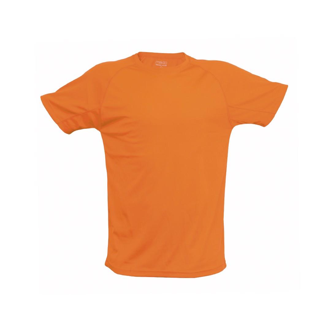 Camiseta Adulto Tecnic Plus - Naranja / XL
