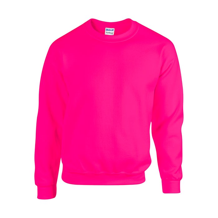 Mikina Heavy Blend Sweat 18000 - Safety Pink / L