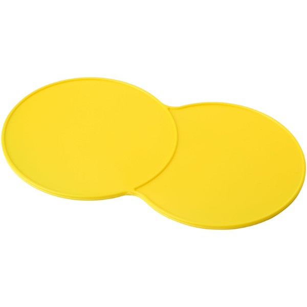 Sidekick plastic coaster - Yellow