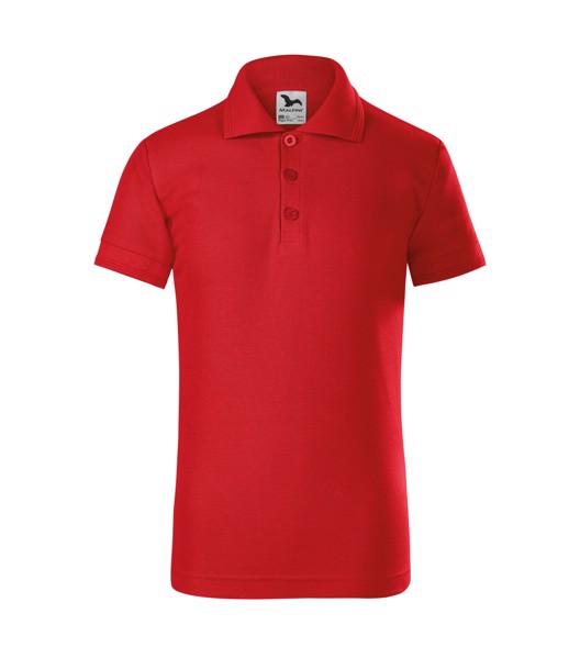 Polo Shirt Kids Malfini Pique Polo - Red / 8 years