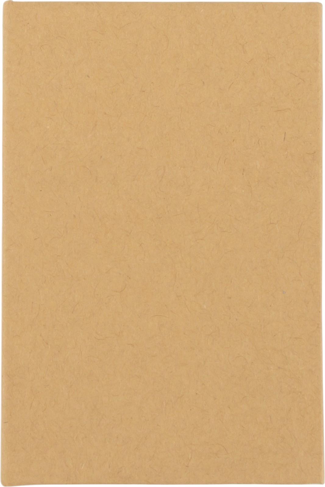 Cardboard sticky note holder - Brown