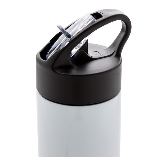 Sport vizespalack szívószállal - Fehér
