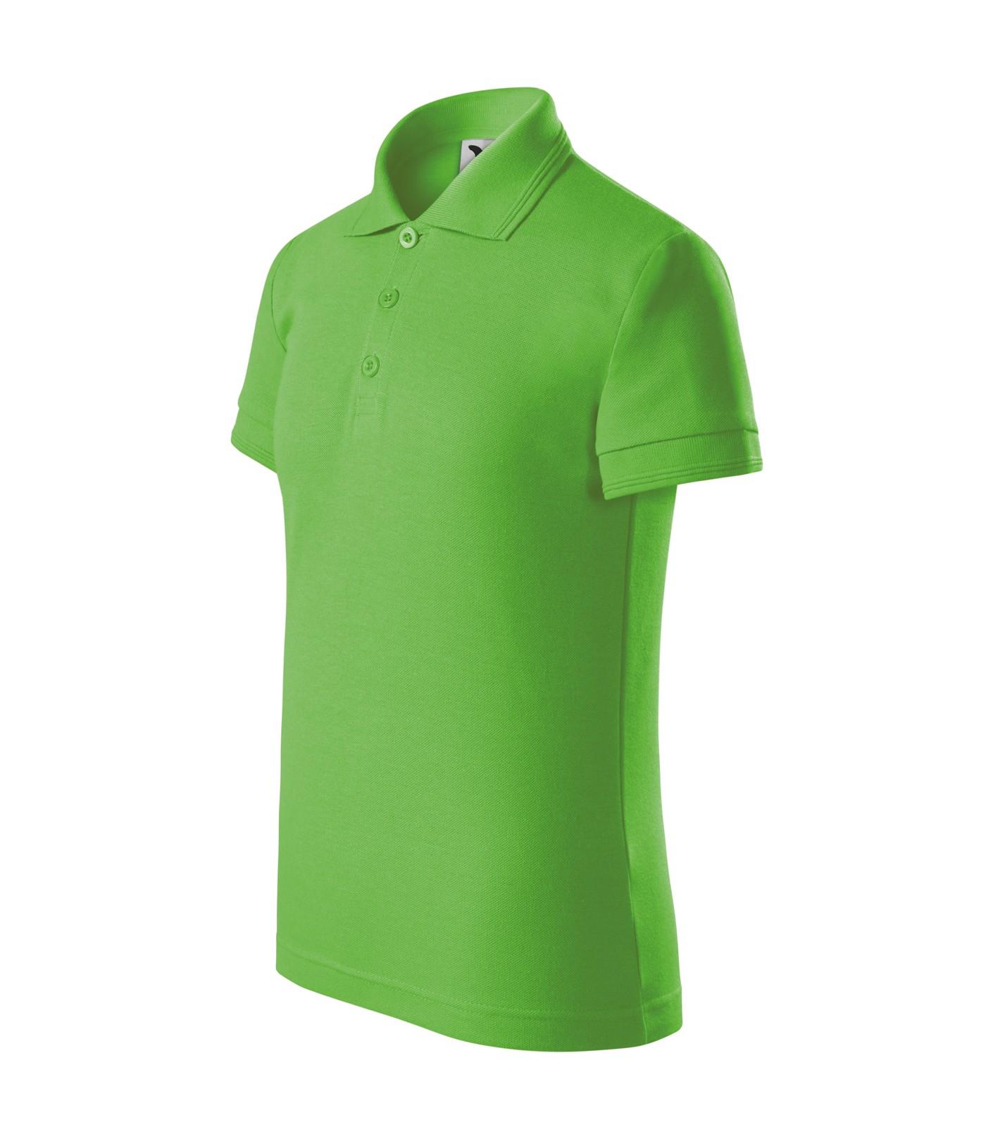 Polokošile dětská Malfini Pique Polo - Apple Green / 110 cm/4 roky