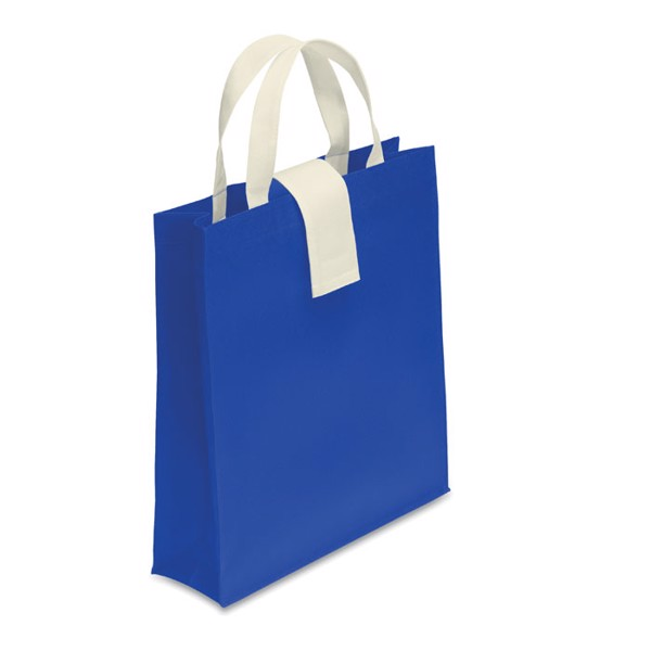 Nonwoven shopping bag Folby - Royal Blue