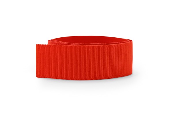 BURTON. Ribbon for hat - Red
