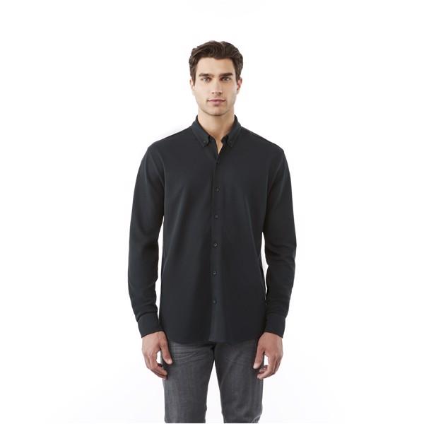 Pánská košile Bigelow s dlouhým rukávem - Světle modrá / S