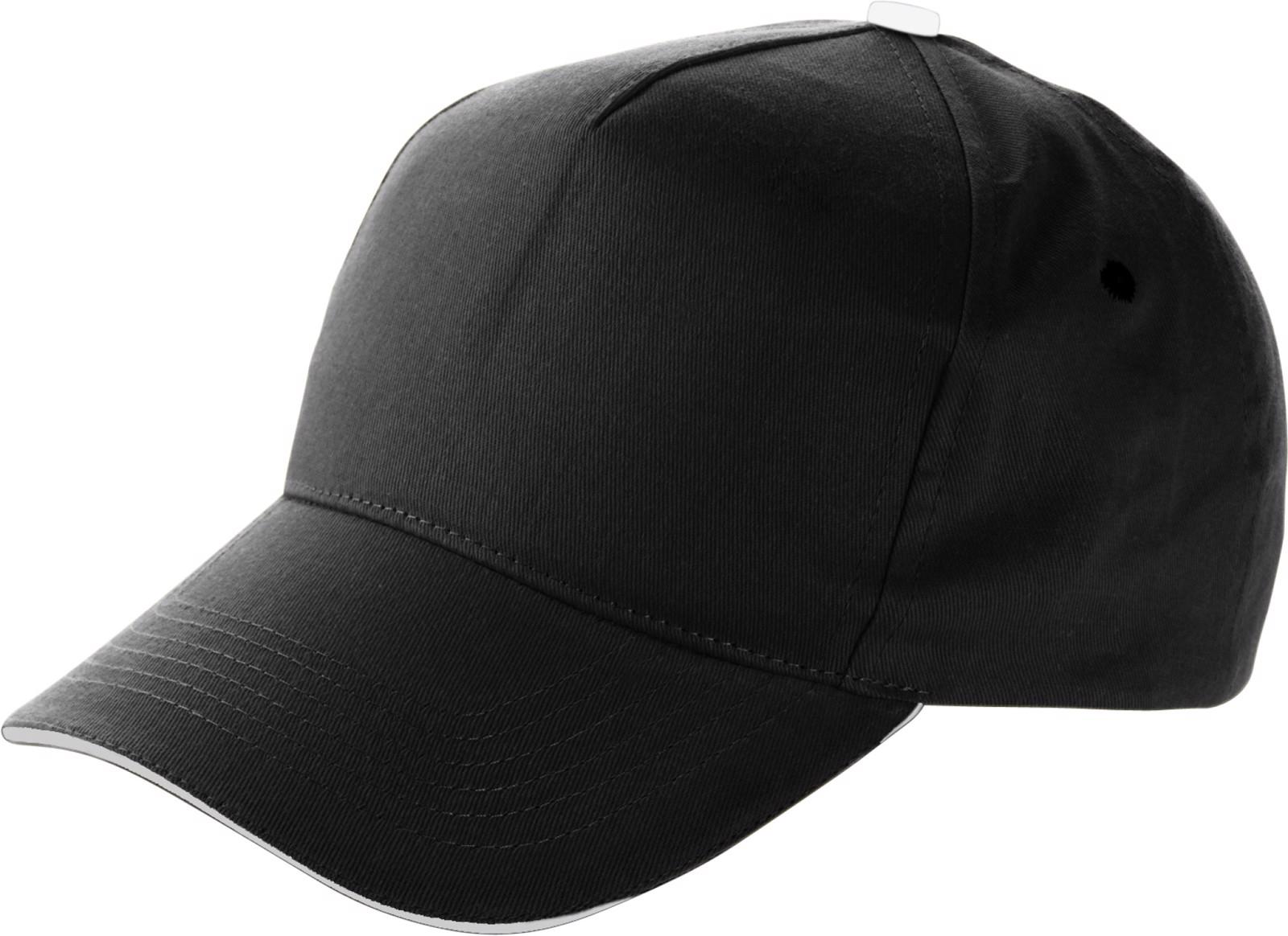 Cotton cap - Black