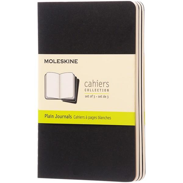 Cahier Journal PK - plain - Solid Black
