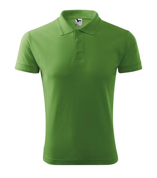 Polo Shirt men's Malfini Pique Polo - Grass Green / XL