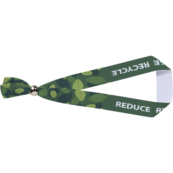 Eek kovový náramek z recyklovaného sublimovaného PET