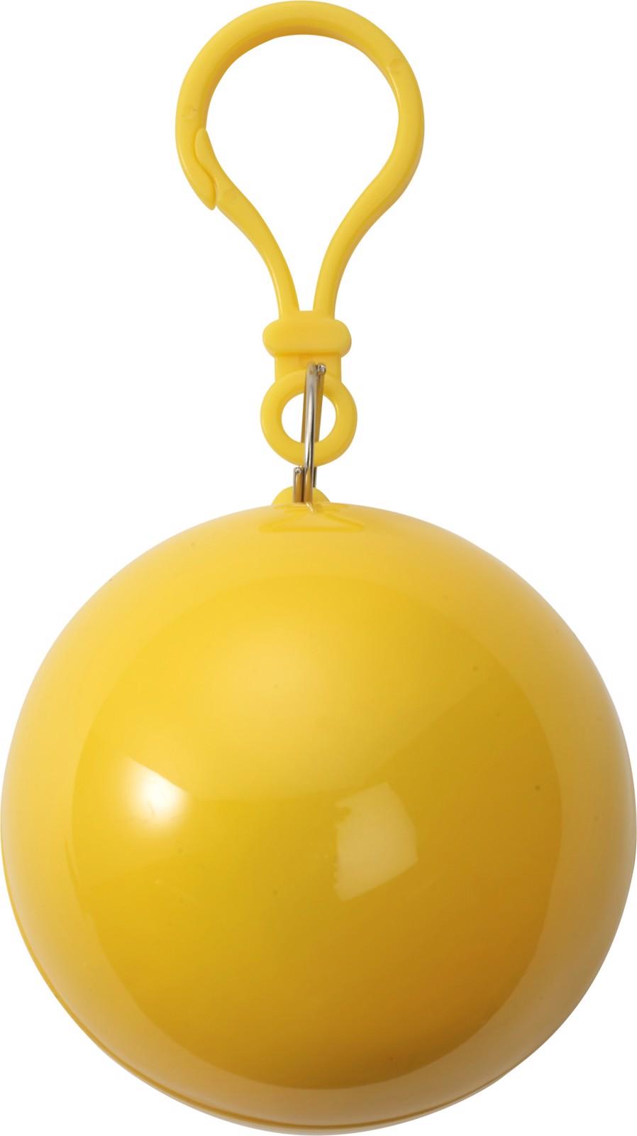PVC poncho - Yellow