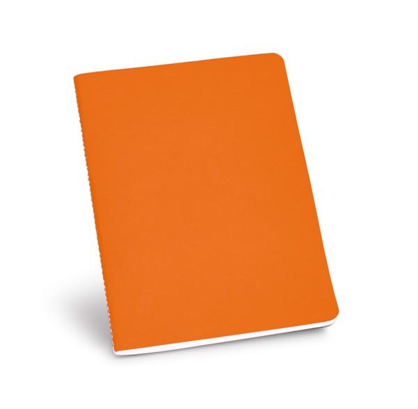 ECOWN. Bloc de notas A5 - Naranja