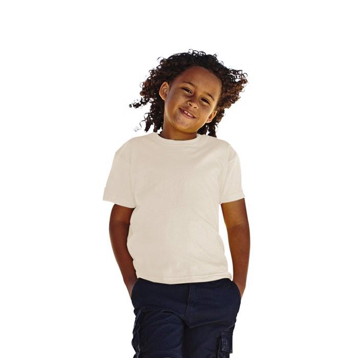 Kinder T-Shirt 165 g/m² Kids Value Weight 61-033-0 - Natural / S