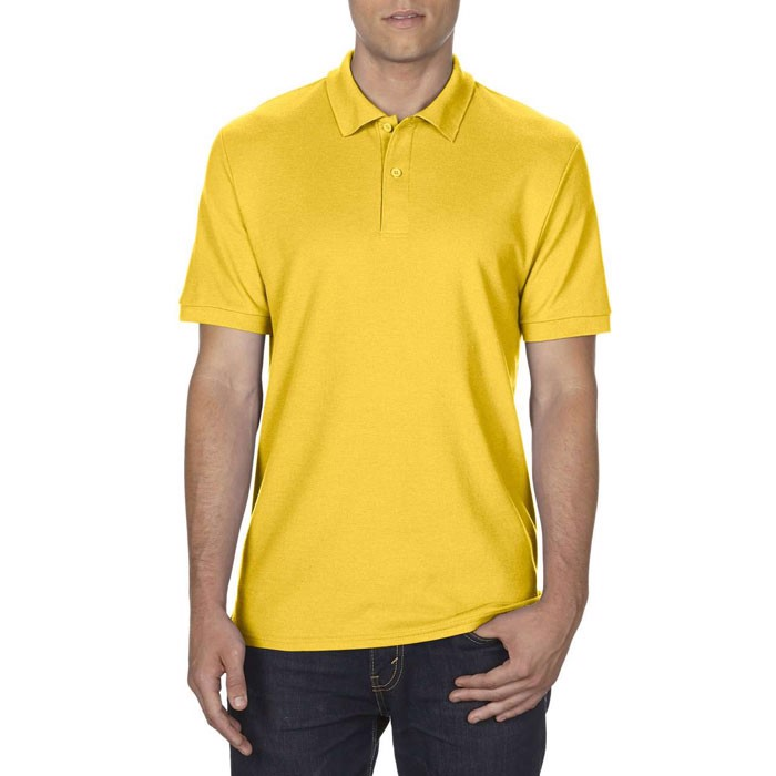 Men's Polo Shirt 207/220 g Dryblend Double Pique 75800 - Daisy Yellow / XXL