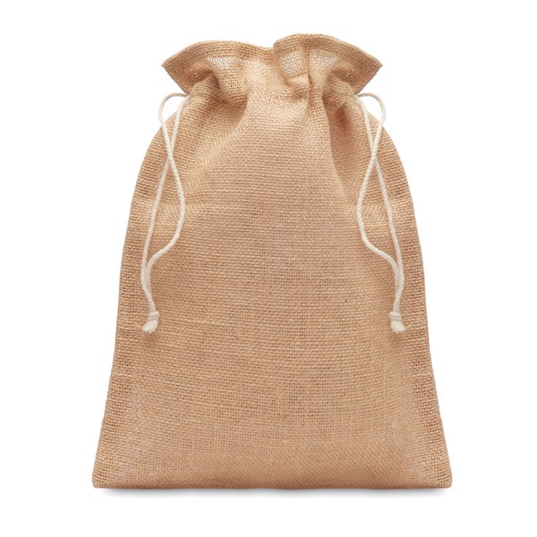 Medium jute gift bag 25 x 32cm Jute Medium