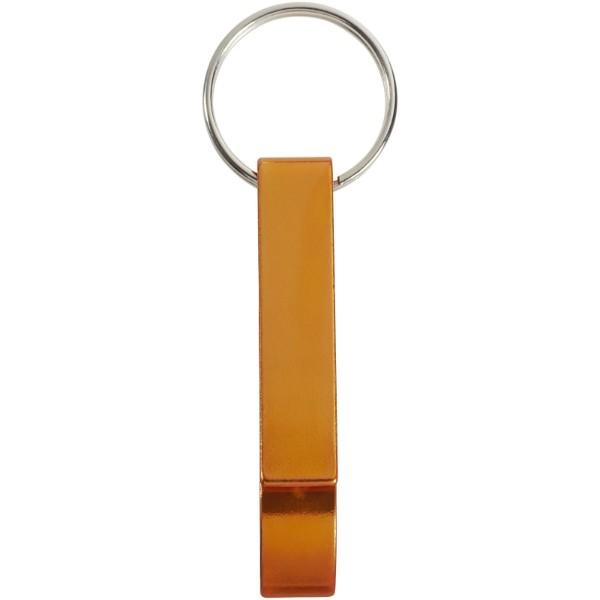 Tao bottle and can opener keychain - Orange