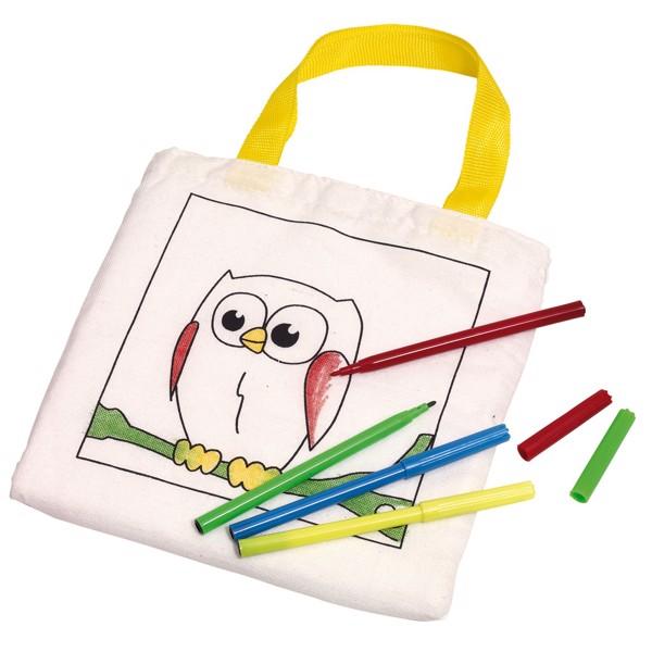 Malá Bavlněná Taška Paint Your Pocket