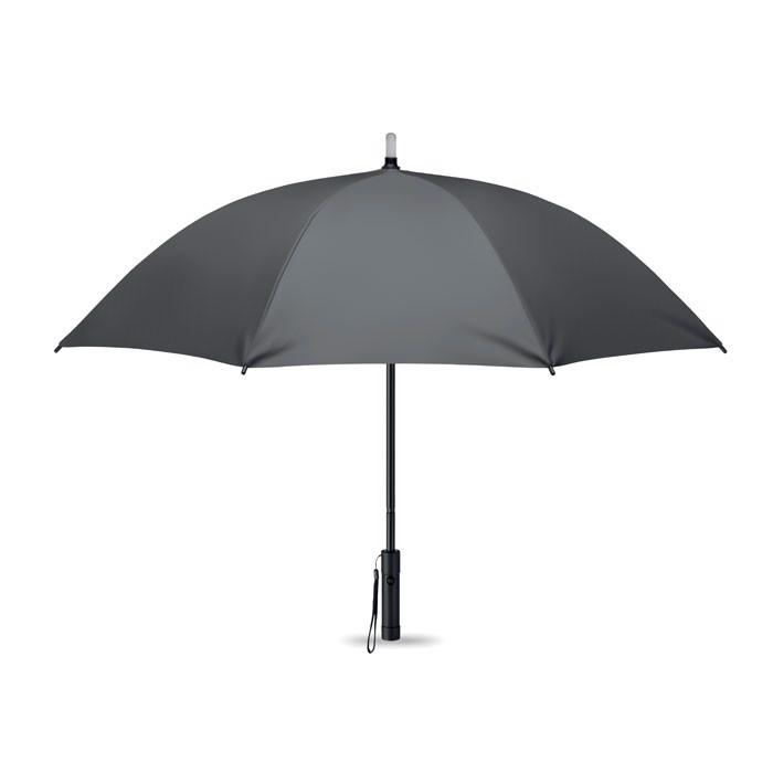 Parasol z lampką Lightbrella - szary