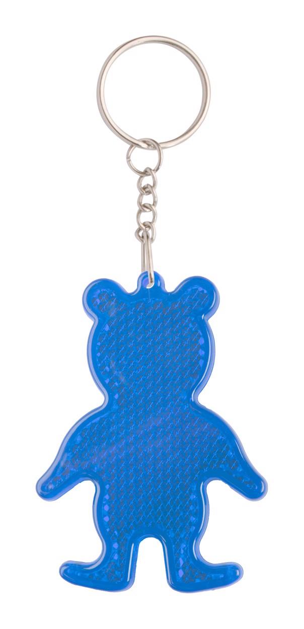 Přívěšek Na Klíče - Odrazka Safebear - Modrá