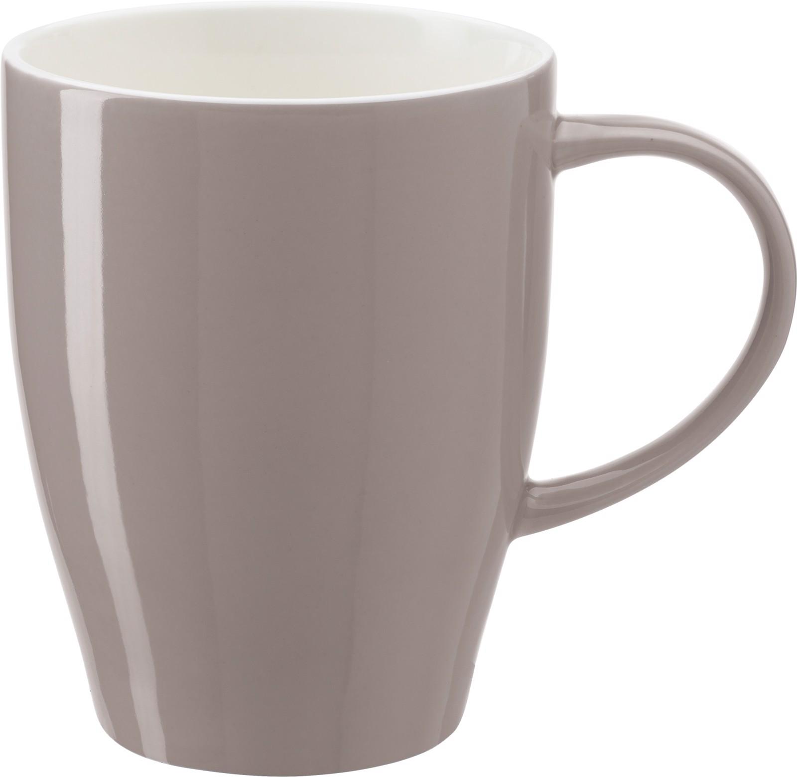 Porcelain mug - Grey