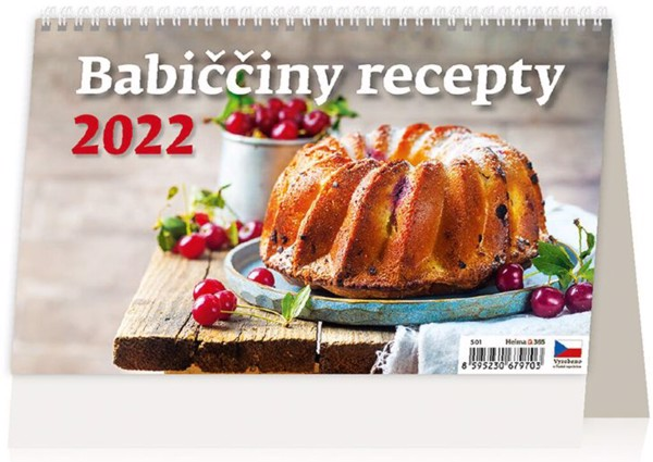 Týdenní kalendář Babiččiny recepty 2022