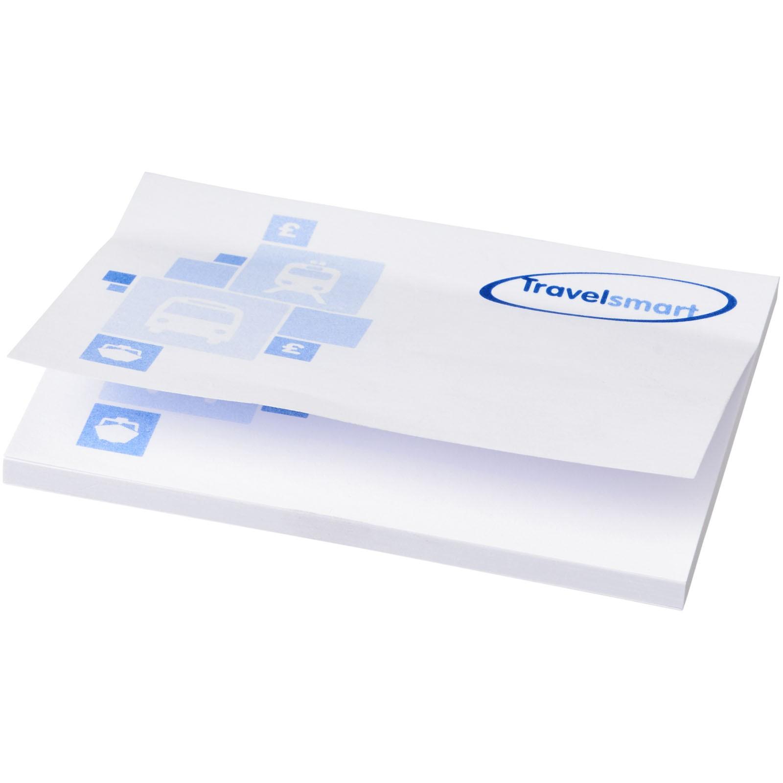 Samolepicí lístečky Sticky-Mate® 100x75mm - Bílá / 50 pages