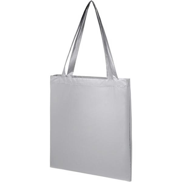 Salvador shiny tote bag - Silver