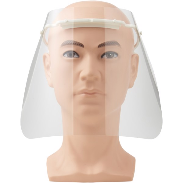 Protective face visor - Medium - White