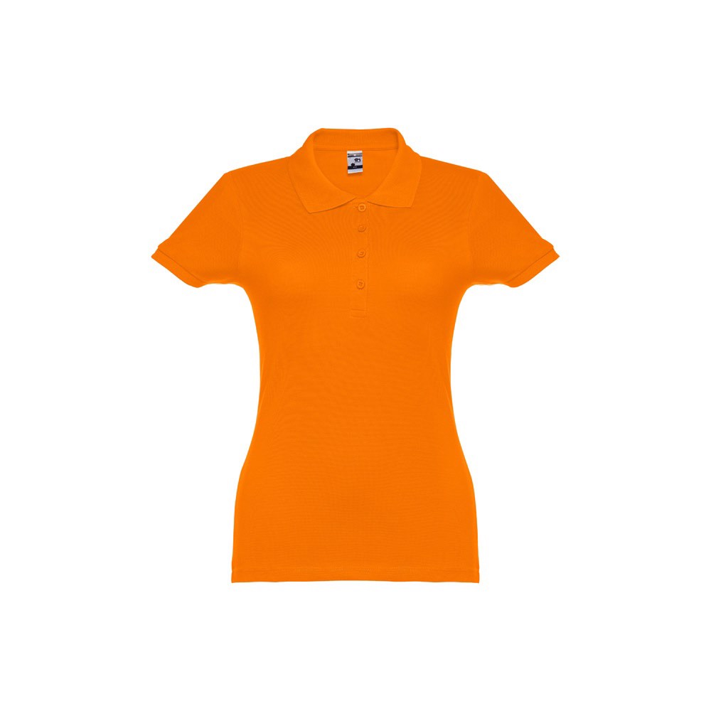 EVE. Γυναικεία πόλο μπλούζα - Πορτοκάλι / S