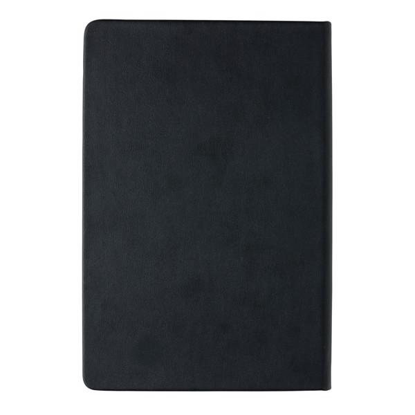 Poznámkový blok A5 s chytrými kapsami - Černá