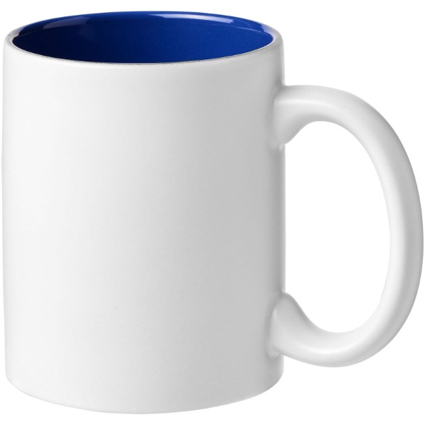 Taika 360 ml ceramic mug - Blue