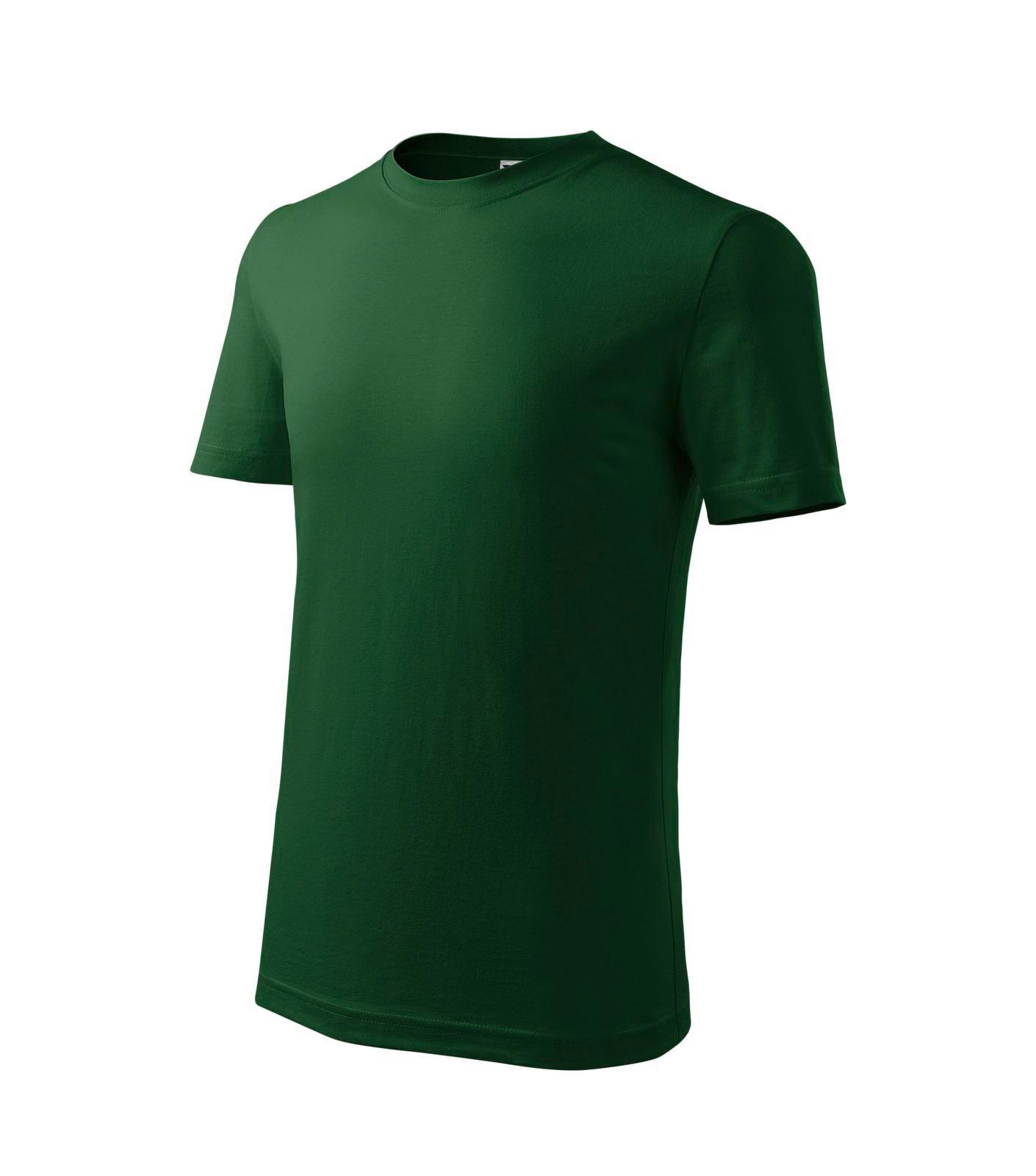 T-shirt Kids Malfini Classic New - Bottle Green / 8 years