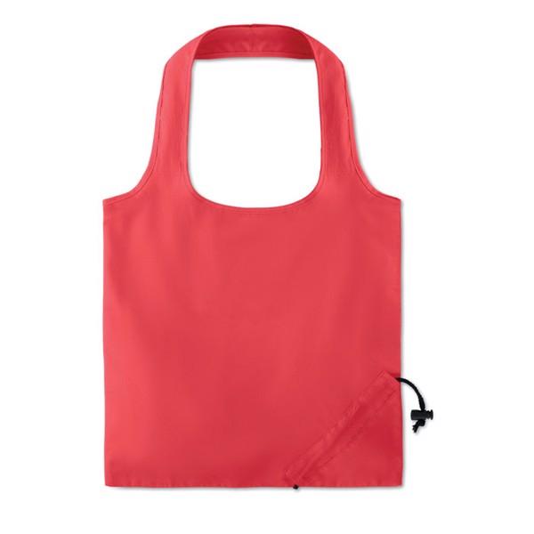 Foldable cotton bag 105 gr/m² Fresa Soft - Red