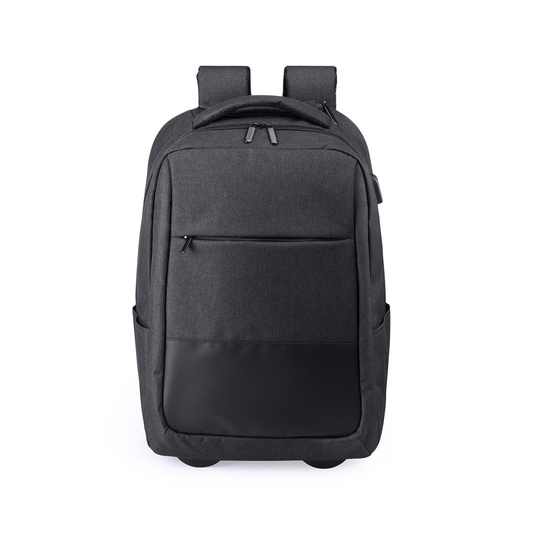 Trolley Backpack Haltrix - Black
