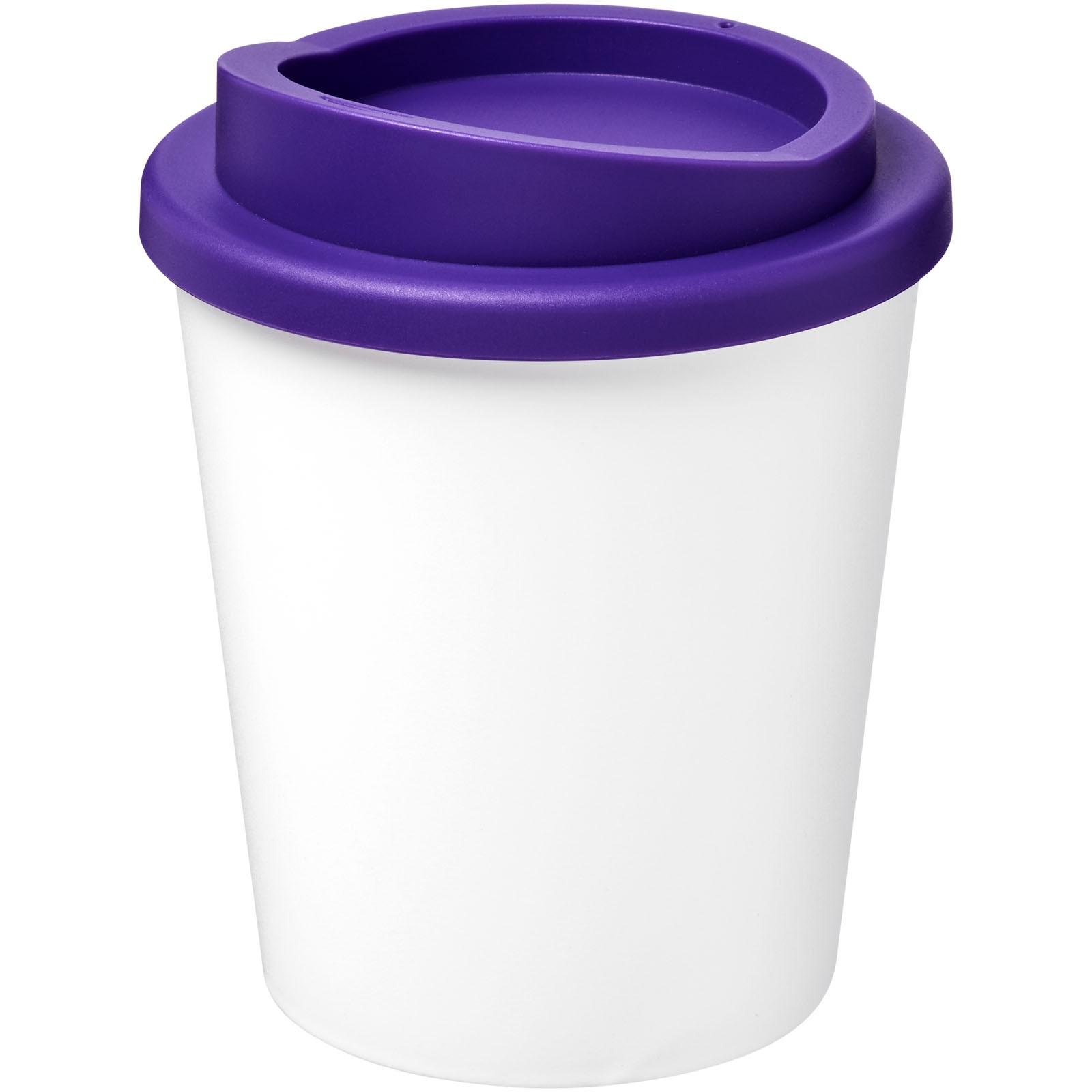Americano® Vaso térmico Espresso de 250 ml - Blanco / Morado