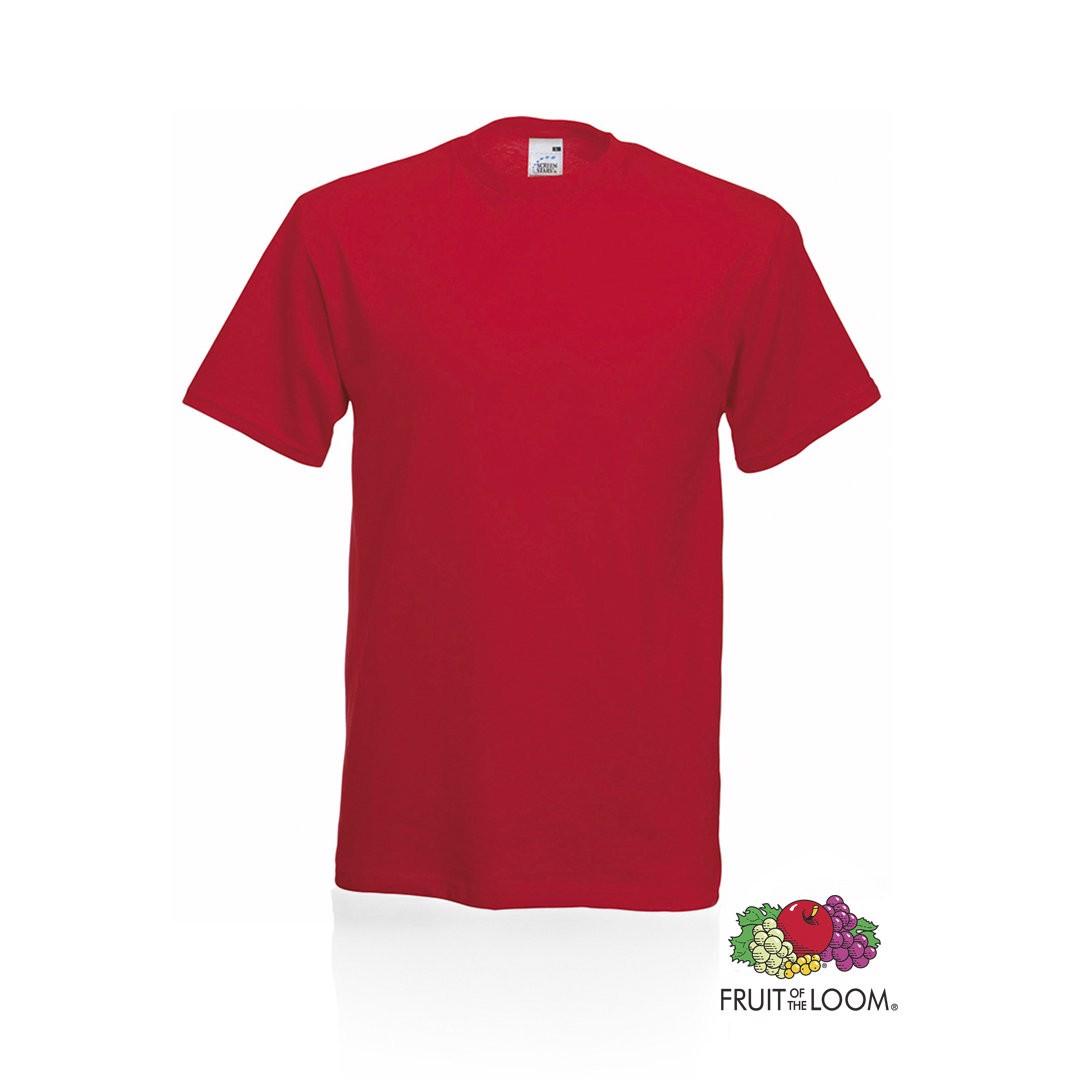 Camiseta Adulto Color Original - Rojo / L