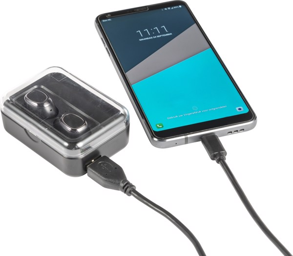 ABS 2-in-1 power bank.