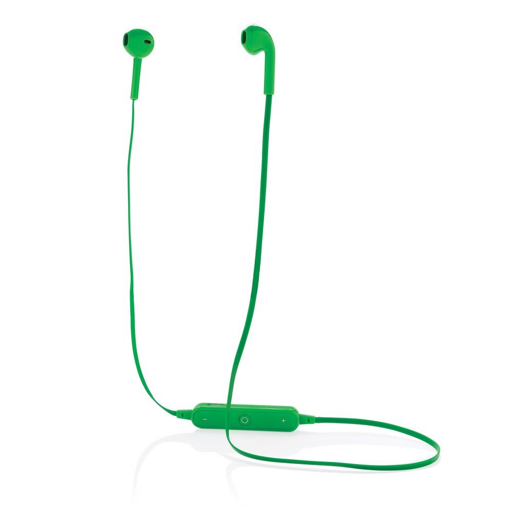 Bezdrátová sluchátka do uší - Zelená