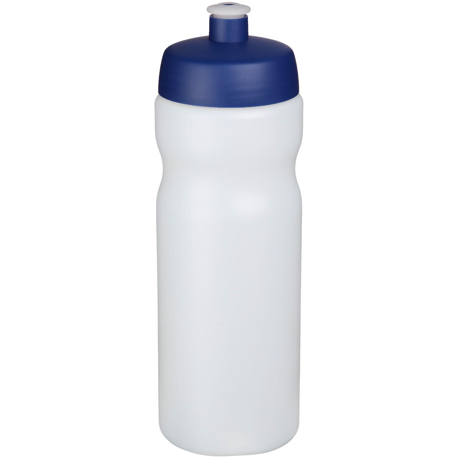 Baseline® Plus 650 ml sport bottle - Transparent / Blue