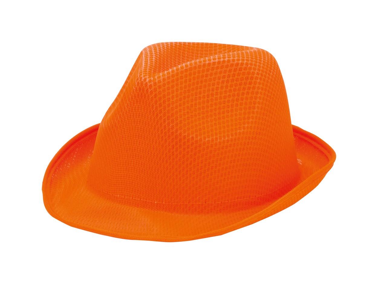 Klobouk Braz - Oranžová