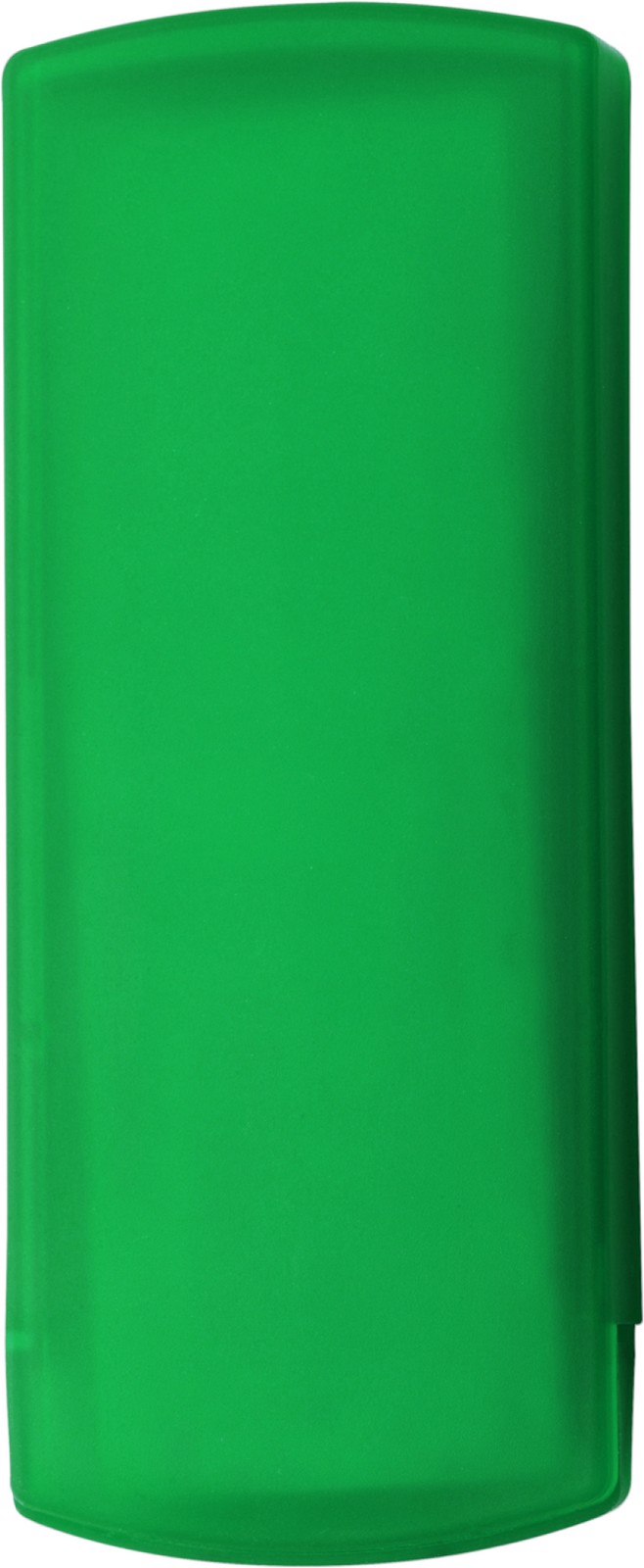 Plastic case with plasters - Light Green