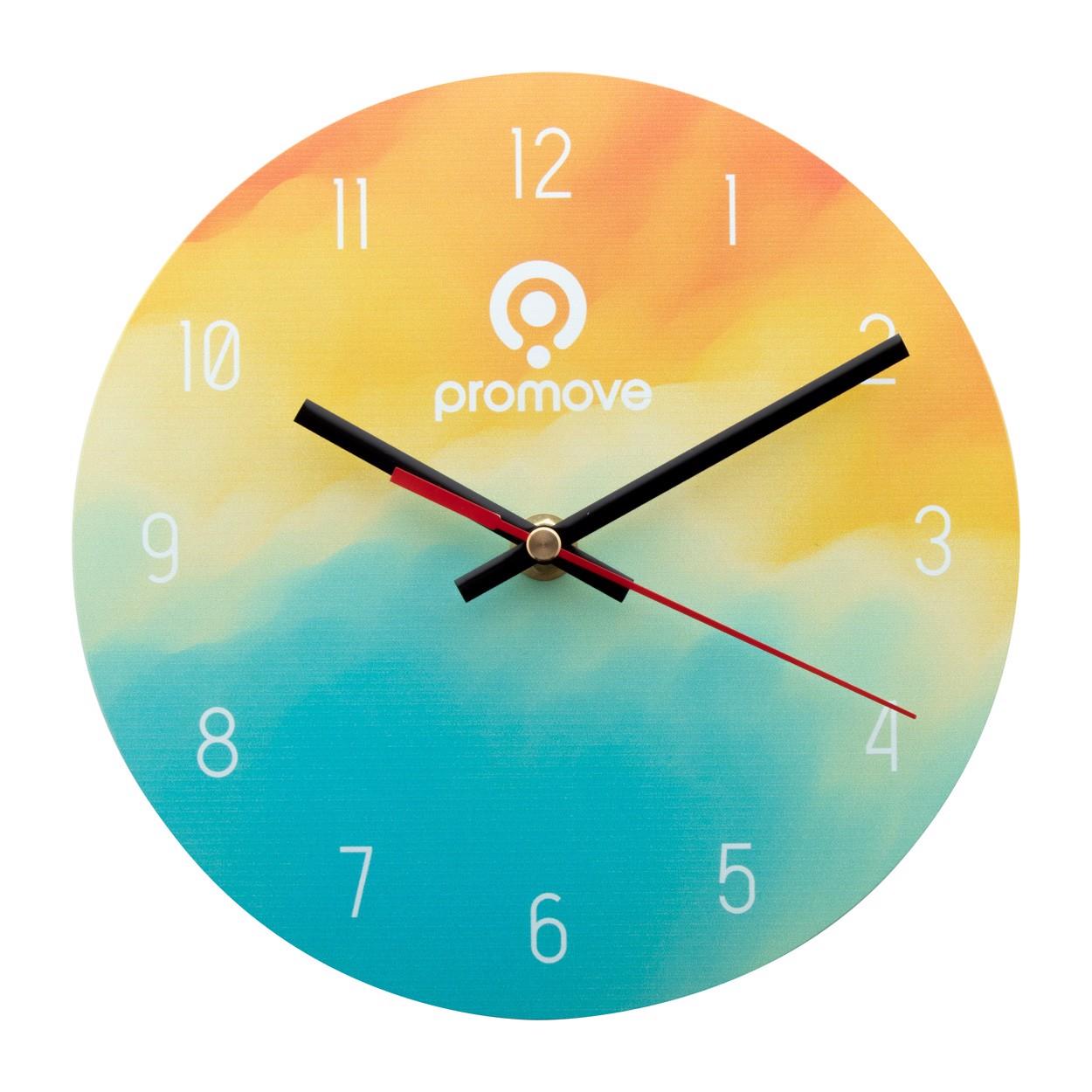 Ceas De Perete Din Sticlă SuboTime - Transparent / Negru