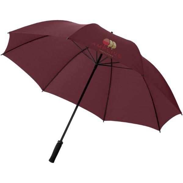 """30"""" golfový deštník Yfke s držadlem z materiálu EVA - Hnědý"""
